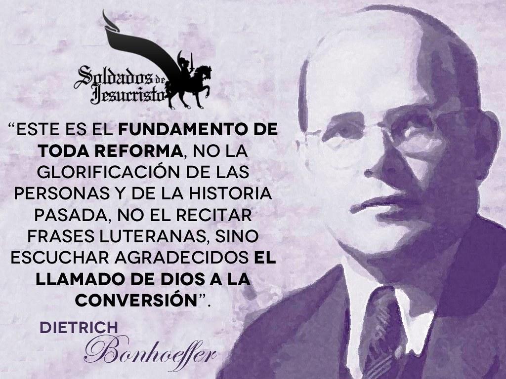 Dietrich Bonhoeffer Soldados De Jesucristo Soldados De
