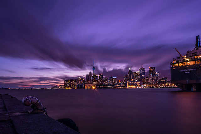 City at Night : Shipping-2