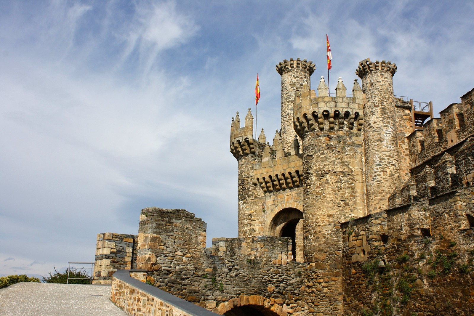 Knights Templar Castle, Ponferrada, Spain