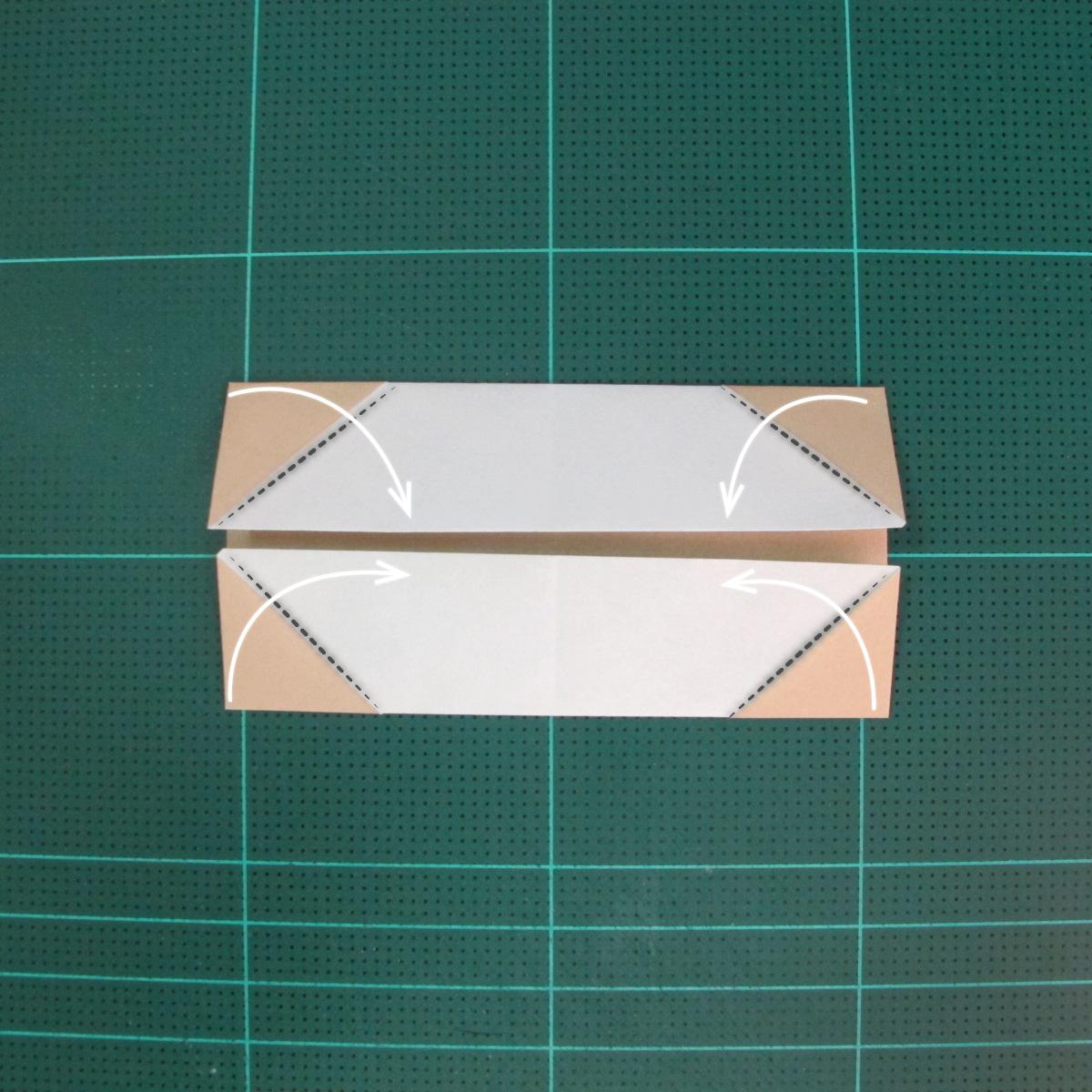 การพับกระดาษเป็นรูปเรือเรือสำปั้น (Origami Sampan) 007