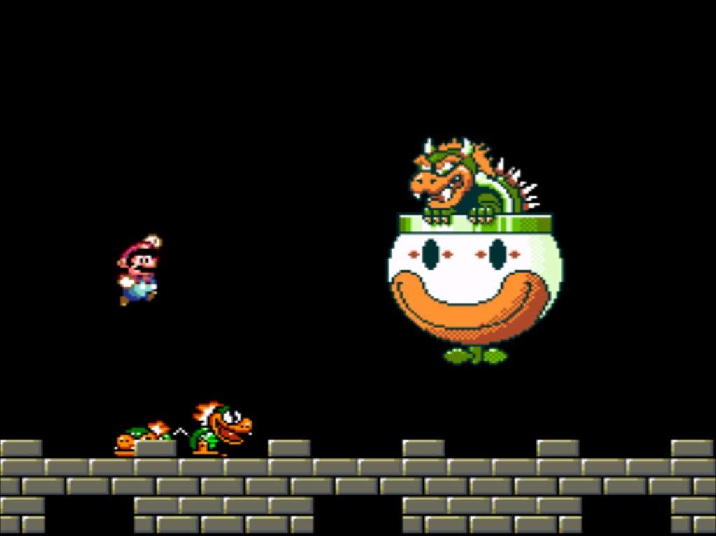 FINAL BOSS -- Super Mario World (1991) | Bowser | Like A