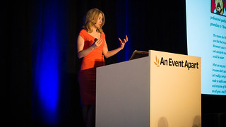 Sarah Parmenter: Designing With Data at An Event Apart Boston 2014 | by Jeffrey