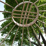 Yurt crown wheel