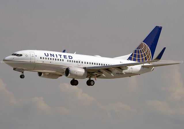 N16709 | UAL | B737 | KCLE - Cleveland-Hopkins Int'l Airport
