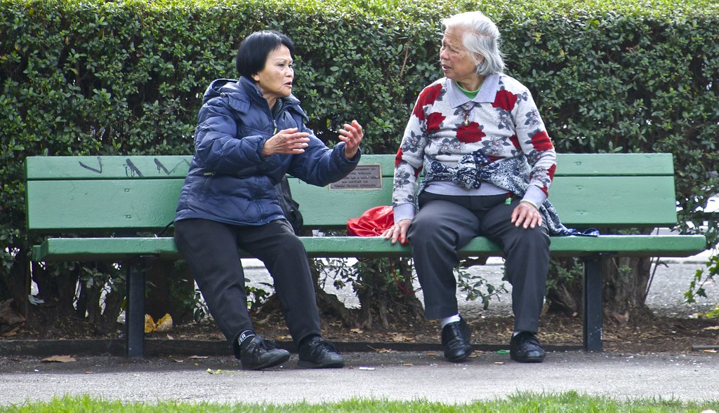 Conversation In The Park