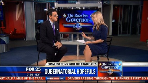 Evan featured on Fox 25 | by Falchuk2014