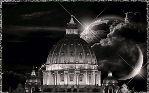 Old sky san Pietro
