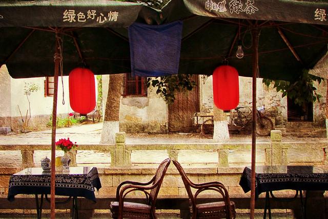 Chinese restaurant .....