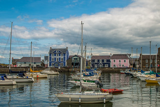 Summer's day at Aberaeron Harbour | by babs pix
