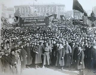 May 1st 1918, Petrograd