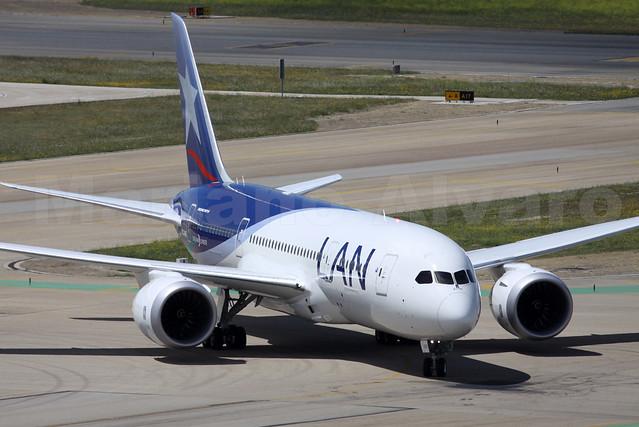 45. Boeing 787-8 Dreamliner (CC-BBE)