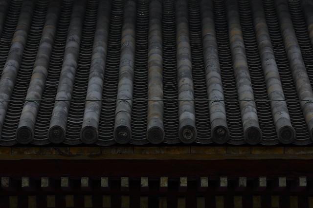 東寺講堂の本葺き瓦