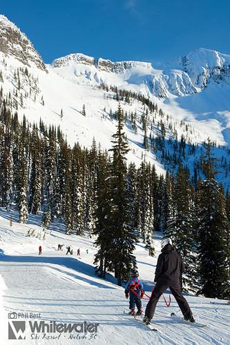 Whitewater Ski Resort, Selkirk Range, Nelson, Kootenays, British Columbia.