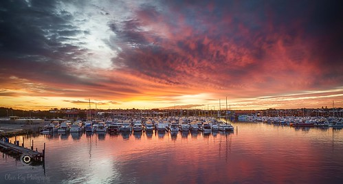 clouds sunrise dawn hillarys nationalgeographic reddawn