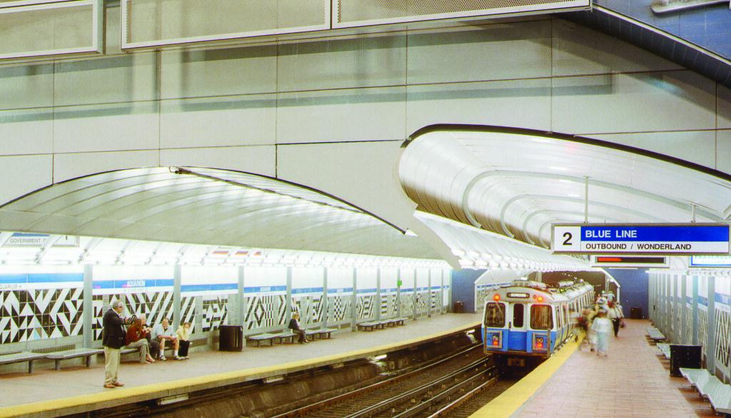 Aquarium Station (MBTA) | Aquarium is one of the deepest T s
