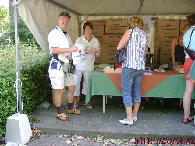 2007-07-16 Startbewijs op halen en vlaggen parade. (4)