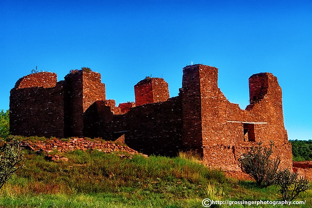 Abo Pueblo Ruins - New Mexico