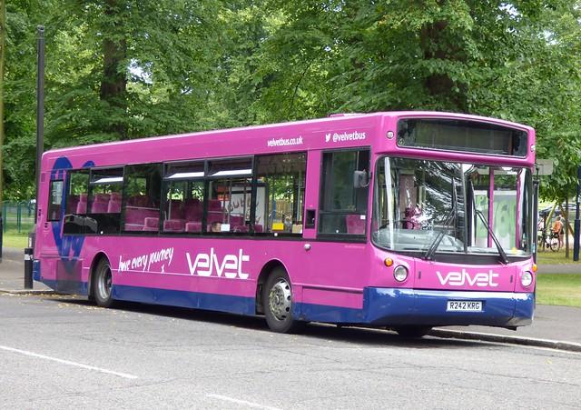 Velvet R242 KRG Southampton 16/7/14
