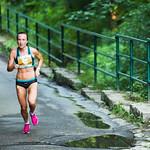 Eva Vrabcová-Nývltová při závodě RunTour v Liberci, foto: archív RunTour