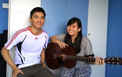 Adult guitar lessons Singapore Sok Ping