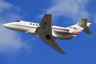 NetJets Hawker 800XP | by christophplank26