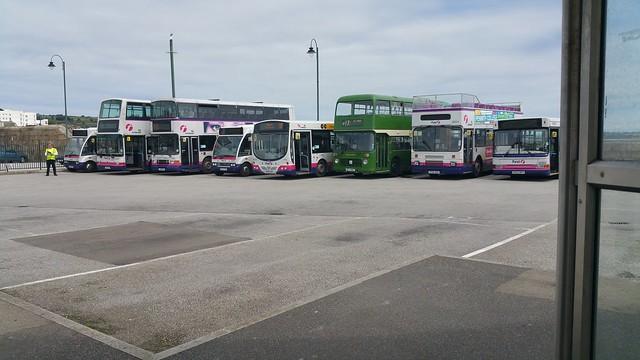 Penzance Bus Terminal, 15th July 2015