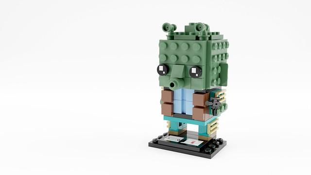 Greedo Brickheadz by Will Kirkby