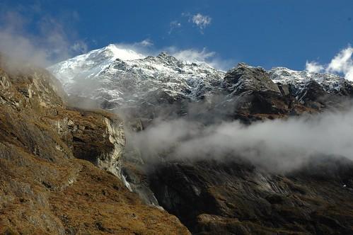 paisaje landscape nepal himalaya trekking viajes travel
