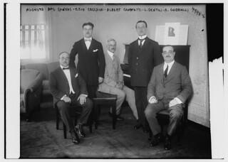 Augusto Dos Santos, Ezio Cecchini, Albert Cammetti, L. Gentili, A. Gabrielli (LOC)