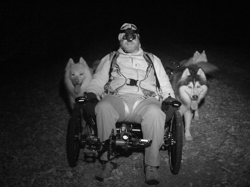 WooFDriver In Nightvision Goggles & Ready To MUSH The WooFPAK | by woofdriver