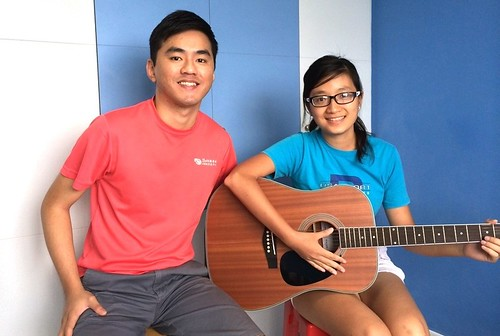 Guitar lessons Singapore Anh