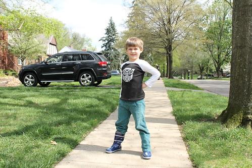 Raglan and After School Pants