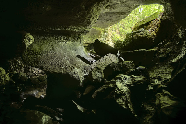 LCR Cave twilight, White County, Tennessee 3