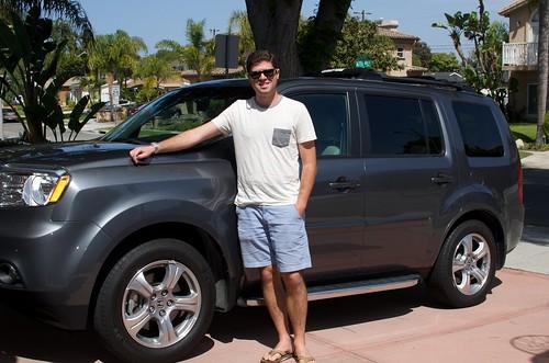 Kyle 2012 Honda Pilot in 2014 Photo