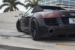 Audi R8 Spyder on ADV7 MV1 SL | by wheels_boutique