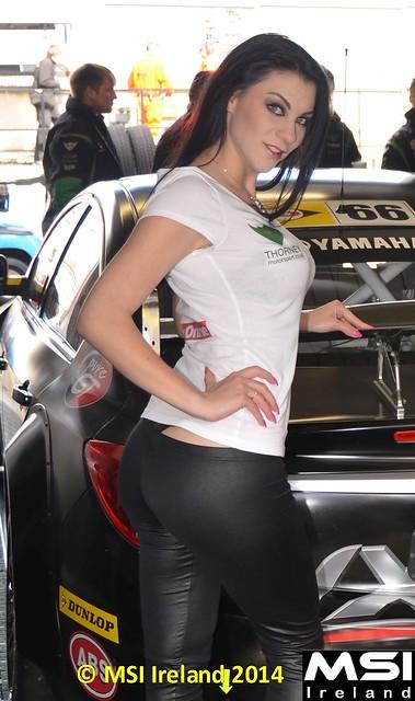 Roxy Mendez BTCC Donington 15-4-2012 003