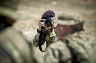 Army Reservist Photographer with the Media Operations Group | by Defence Images