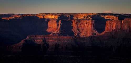 statepark sunrise dawn utah sandstone cliffs clear deadhorsepoint moab