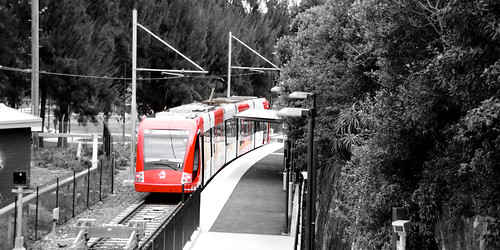 Light rail at Dulwich hill | by wyncliffe