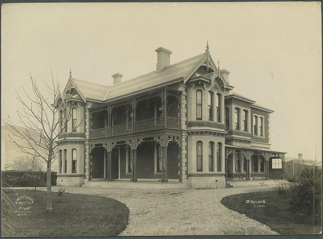 Dr Allan's House, Gordon Road, Mosgiel, 1906