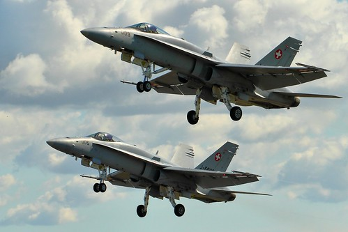 F/A-18C Hornets - RIAT 2014   by Airwolfhound