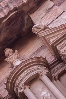 Petra Treasury: Carved Detail II