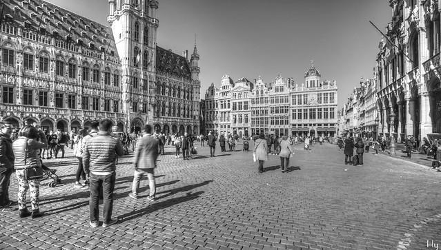 Bruxelles Monochrome