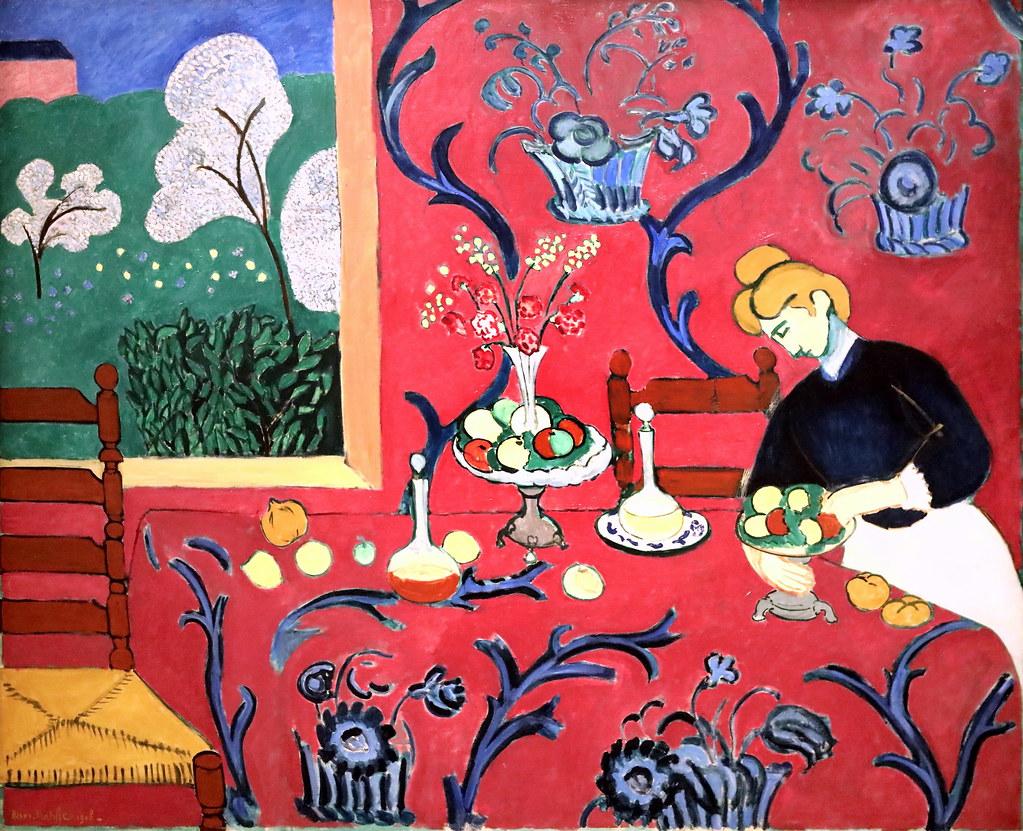 IMG_8264 Henri Matisse. 1869-1954. Paris.La desserte rouge ...
