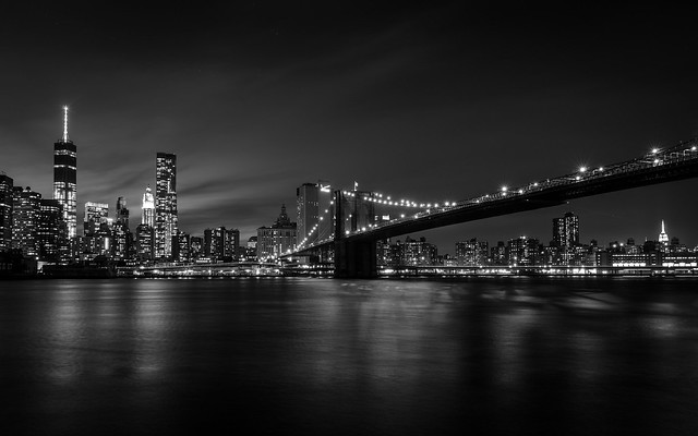 From 1WTC to ESB [B&W Re-Edit] [Explore'd]