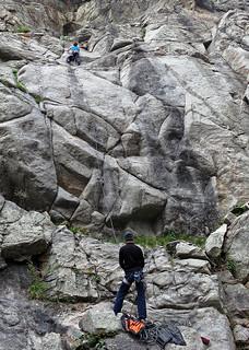 Climbing in Boulder Canyon | by longrangerjustin