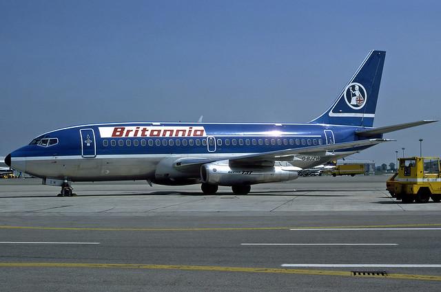 Britannia Airways B737-296(A) G-BJZW