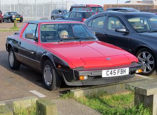 1986 Fiat X1/9 VS | by Spottedlaurel