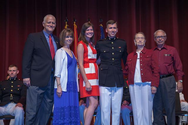Navy & Marine Corps Commissioning Ceremony