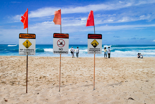 No Swimming on the North Shore | by The Hamster Factor